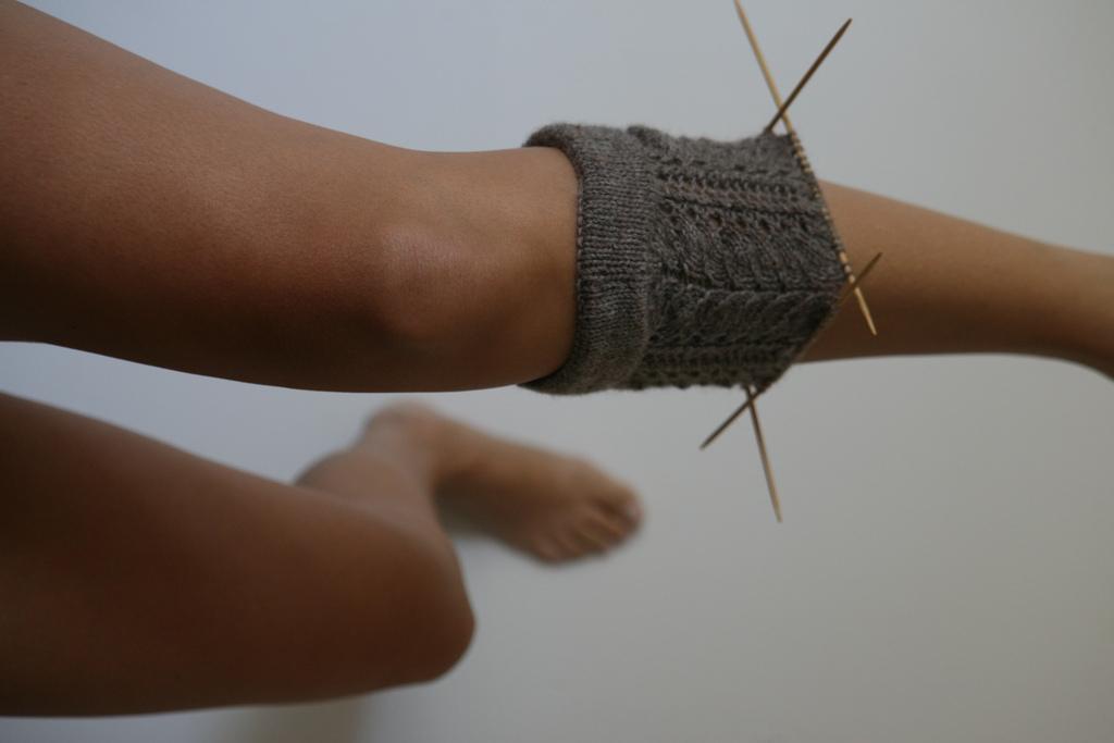 lace leg.