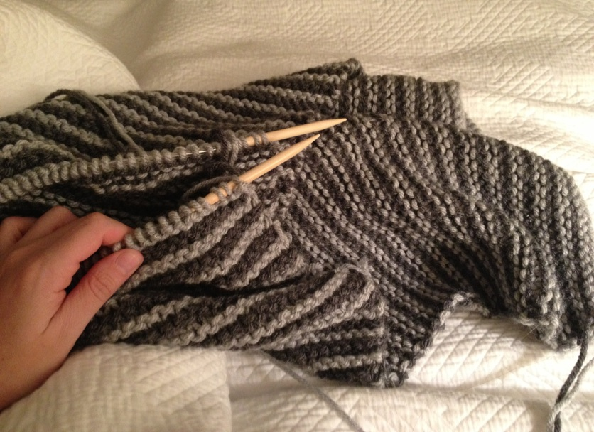 garter stripes