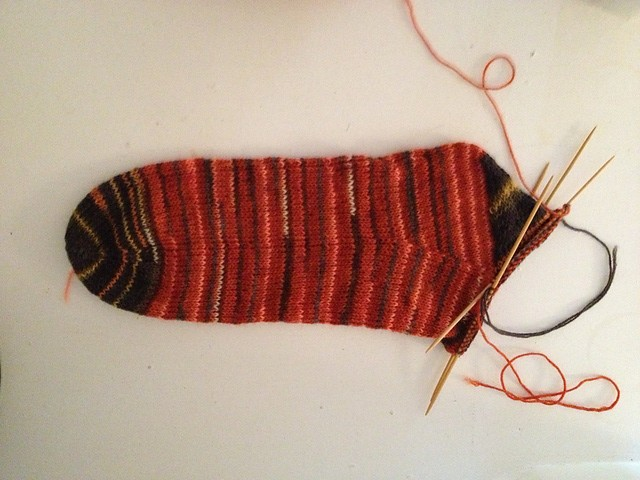 sock.